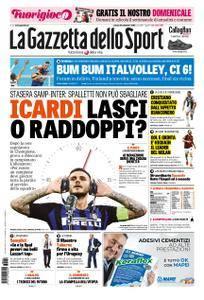 La Gazzetta dello Sport Roma – 22 settembre 2018