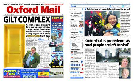 Oxford Mail – February 26, 2018