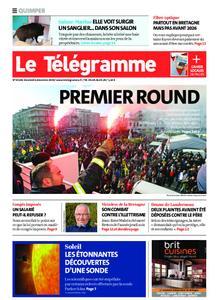 Le Télégramme Quimper – 06 décembre 2019