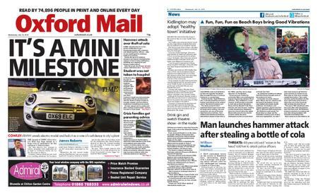 Oxford Mail – July 10, 2019