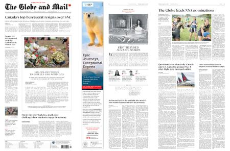 The Globe and Mail – March 19, 2019