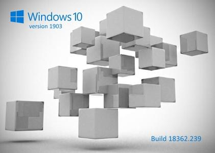 Windows 10 version 1903 Build 18362.239