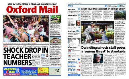 Oxford Mail – July 09, 2018