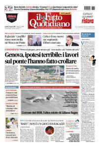 Il Fatto Quotidiano - 20 agosto 2018
