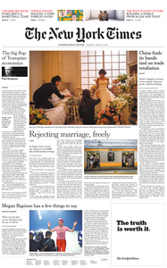 International New York Times - 05 August 2019