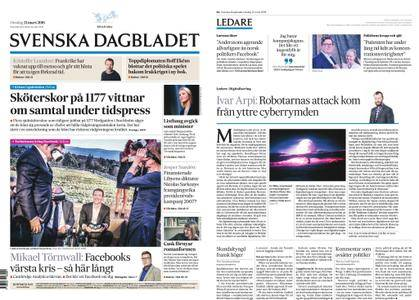 Svenska Dagbladet – 21 mars 2018