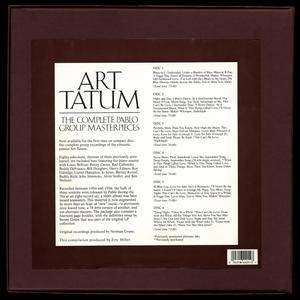 Art Tatum - The Complete Pablo Group Masterpieces (1990) {6CD Set Pablo Records 6PACD-4401-2 rec 1954-1956}