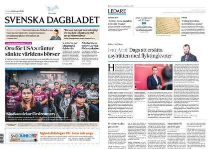 Svenska Dagbladet – 06 februari 2018