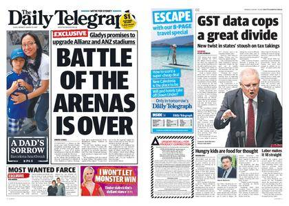 The Daily Telegraph (Sydney) – August 21, 2017
