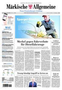 Neue Oranienburger Zeitung - 12. April 2018