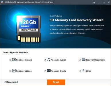IUWEshare SD Memory Card Recovery Wizard 5.1.1.8 Unlimited