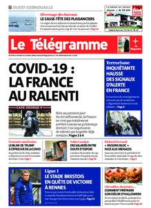 Le Télégramme Ouest Cornouaille – 31 octobre 2020