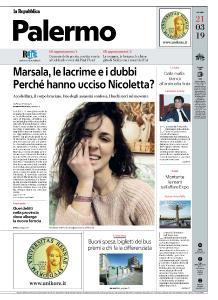 la Repubblica Palermo - 21 Marzo 2019