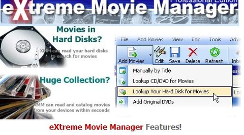 eXtreme Movie Manager v7.0.5.7 Deluxe Edition