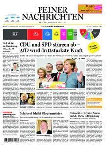 Peiner Nachrichten - 25. September 2017