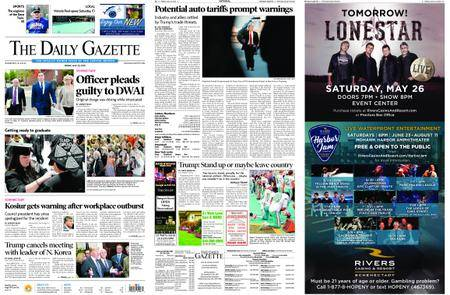 The Daily Gazette – May 25, 2018