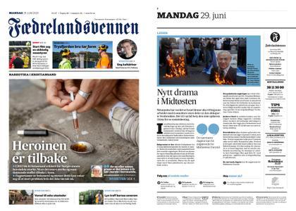 Fædrelandsvennen – 29. juni 2020