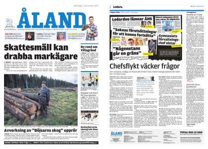 Ålandstidningen – 11 december 2017