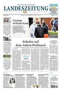 Schleswig-Holsteinische Landeszeitung - 20. September 2019