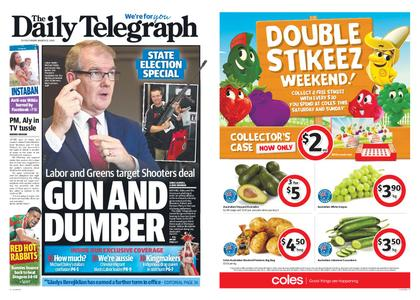 The Daily Telegraph (Sydney) – March 22, 2019