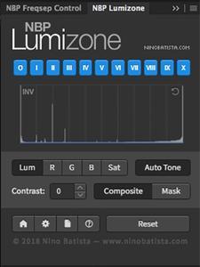 NBP Lumizone for Adobe Photoshop 1.1.001
