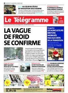 Le Télégramme Brest Abers Iroise – 11 février 2021