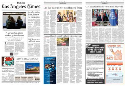 Los Angeles Times – September 12, 2021