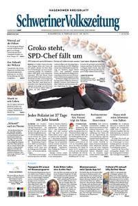 Schweriner Volkszeitung Hagenower Kreisblatt - 08. Februar 2018