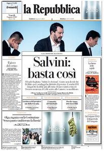 la Repubblica - 9 Agosto 2019