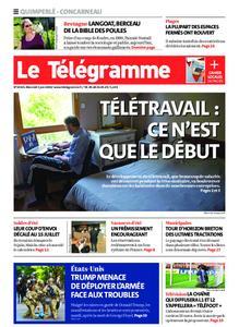 Le Télégramme Concarneau – 03 juin 2020