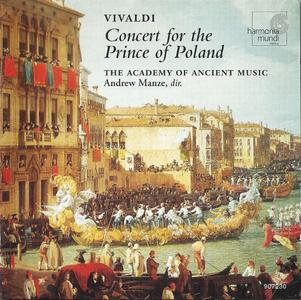 Andrew Manze, Academy of Ancient Music - Vivaldi: Concert for the Prince of Poland (1997) (Repost)