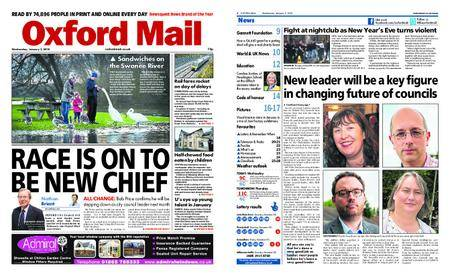 Oxford Mail – January 03, 2018