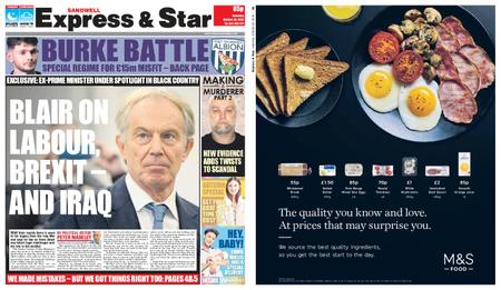 Express and Star Sandwell Edition – October 20, 2018