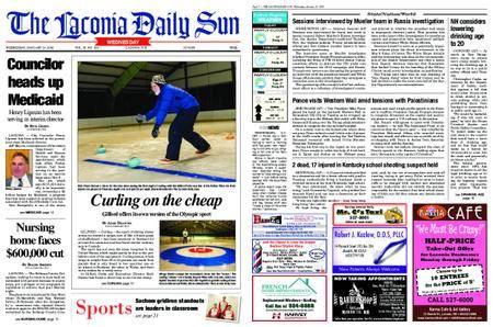The Laconia Daily Sun – January 24, 2018