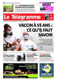 Le Télégramme Ouest Cornouaille – 12 avril 2021
