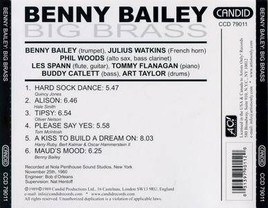 Benny Bailey - Big Brass (1960) {Candid CCD79011 rel 1989}