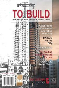 To Build Magazine - March/June 2018
