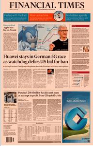 Financial Times Europe – 15 April 2019