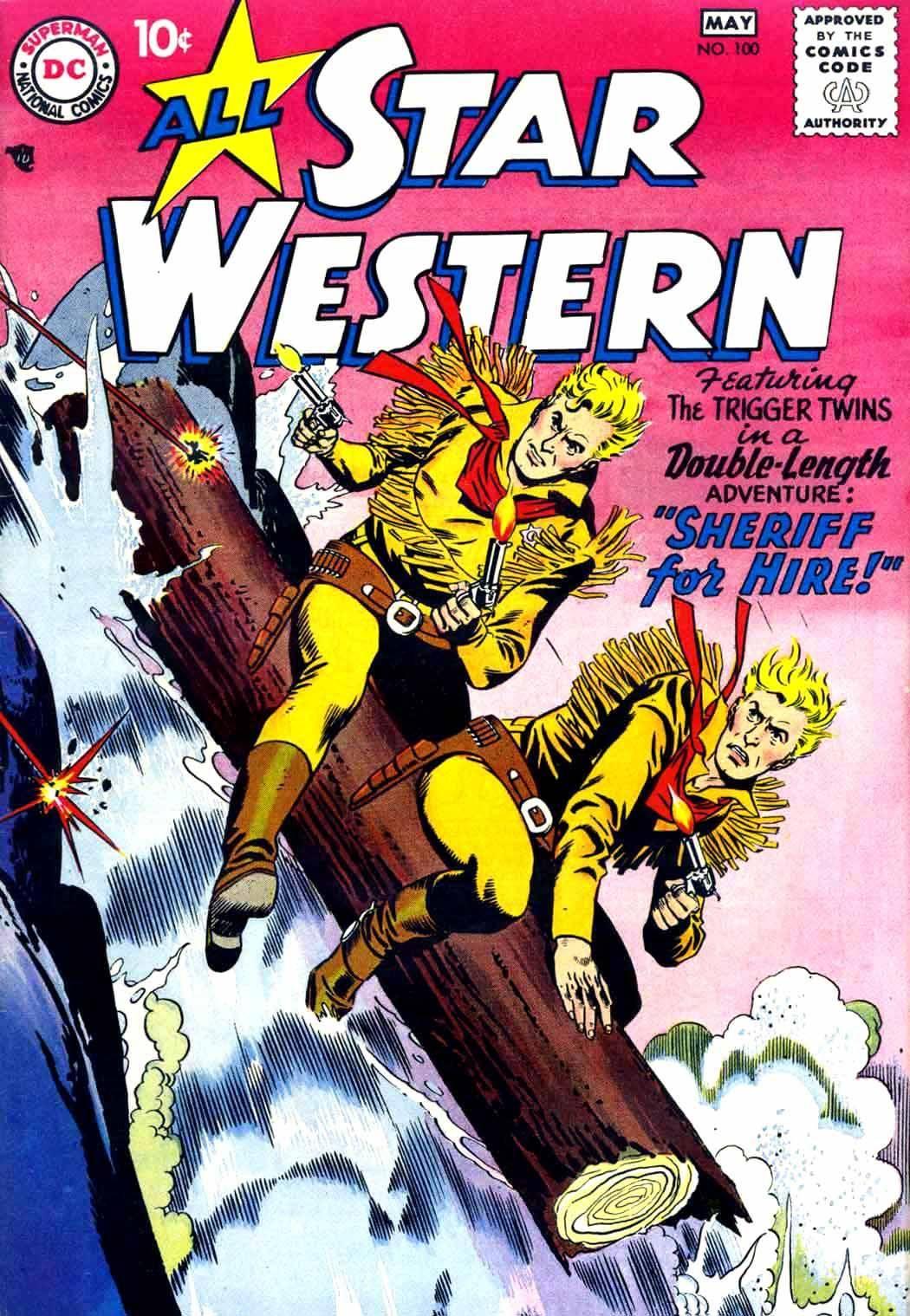 Star Western v1 100 1958