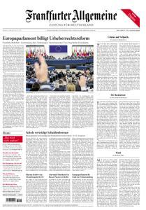 Frankfurter Allgemeine Zeitung F.A.Z. - 27. März 2019