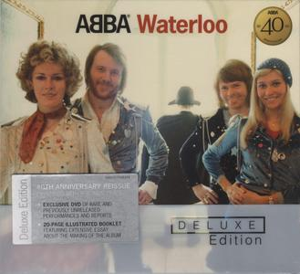 ABBA - Waterloo (1974) {2014, 40th Anniversary Polar Remaster, CD+DVD, Deluxe Edition 00602537645374}