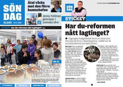 Ålandstidningen – 24 november 2019