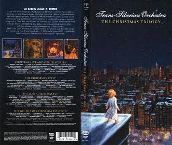 Trans-Siberian Orchestra - The Christmas Trilogy (2004) [3CD + DVD Box Set] Repost