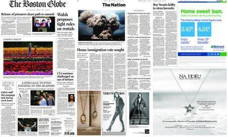 The Boston Globe – May 10, 2018