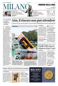 Corriere della Sera Milano – 08 settembre 2018