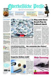 Oberhessische Presse Marburg/Ostkreis - 15. November 2018