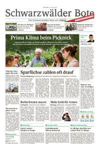 Schwarzwälder Bote Hechingen - 22. Juli 2019