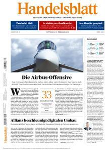 Handelsblatt - 13. Februar 2019