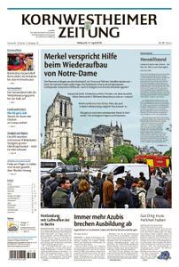 Kornwestheimer Zeitung - 17. April 2019