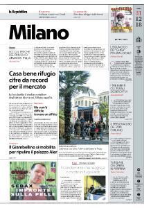 la Repubblica Milano - 31 Dicembre 2018